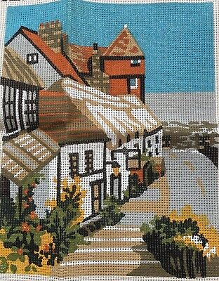 Kristina Needlework Tapestry Village Street K1008 Needlepoint Kit Made in UK