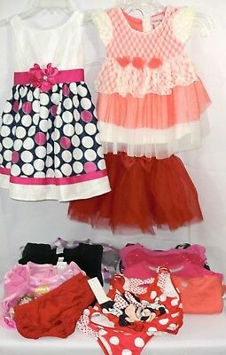 Lot of 15 pcs. Girls Size 3T-4T Carters ~ Old Navy ~ Disney ~ Youngland ~