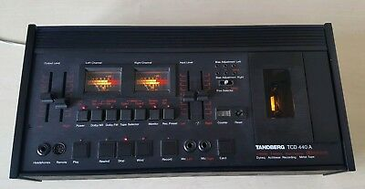 TANDBERG TCD 440A CASSETTE DECK music/audio/stereo/record/songs/tape/hifi/system