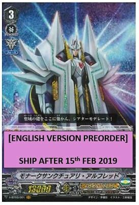 Cardfight Vanguard Monarch Sanctuary Alfred V-Bt03/001En Vr