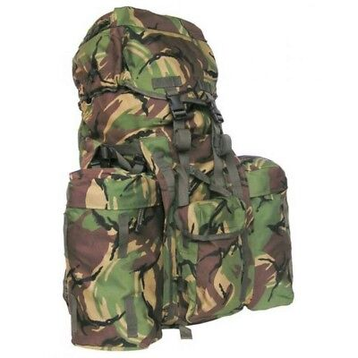 British army dpm infantry long back bergen rucksack side Pouches  yoke and strap