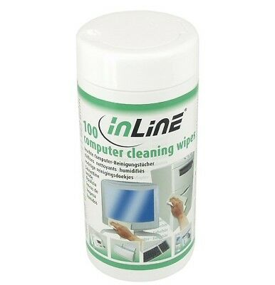 InLine  43200 equipment cleansing kit Equipment cleansing wet cloths Screens/Pla