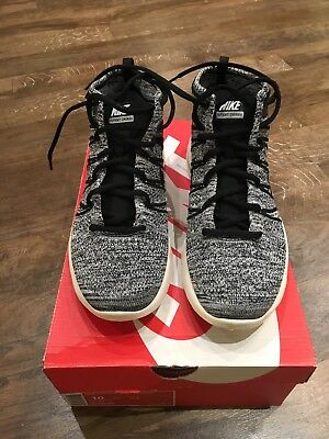 meet b428d 9c851 Nike Lunar Flyknit Chukka UK9 554969-002 Black White