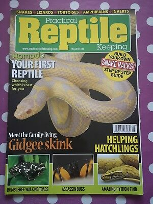Practical Reptile Keeping Magazine - May 2012 - Your First Reptile