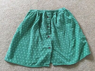 Lovely Ladies Ditsy Green Skirt Loving Youth At TOPSHOP Size 10 12