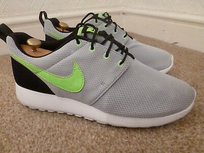 c26379788c42 Mens Uk 6 Nike Roshe One Gs Grey Textile Gym Running Trainers Sneakers Shoes