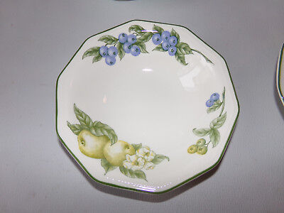 Churchill Victorian Orchard fruits assiettes creuses breakfast or soup  plates