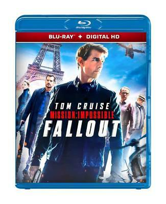 Fallout - Mission: Impossible - 2018 (Blu-Ray + Digital Hd ) Region  Free