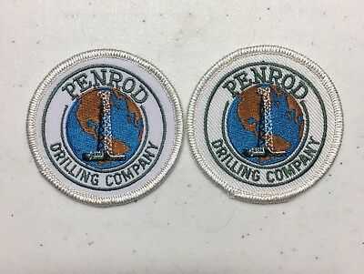 Oil Rig PENROD DRILLING COMPANY Advertising Patches