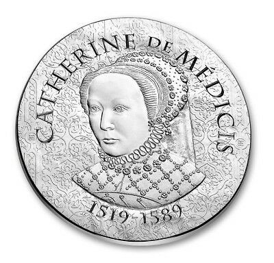 2017 France 10 Euro Silver Proof Coin Catherine de Medicis Women of France