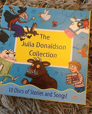 Julia Donaldson Collection Audio Cds