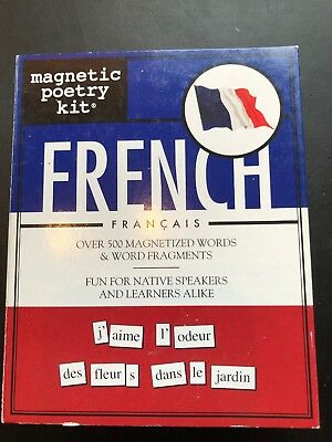French Magnetic Poetry Kit Fridge Or Whiteboard Learn Français Word Games