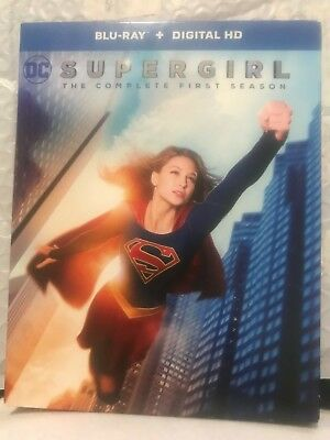 Supergirl: The Complete First Season (Blu-ray Disc, 2016, 3-Disc Set)