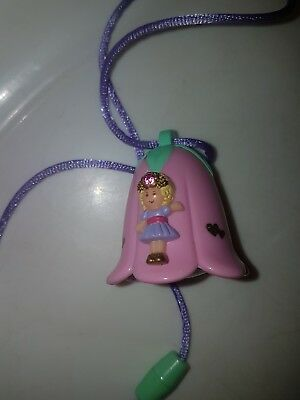 vintage polly pocket wishing bell necklace