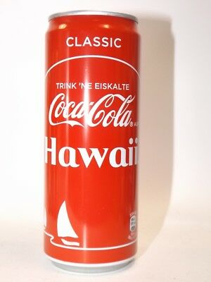 COCA COLA HAWAII  Dose 0,33L Neu Voll  Sommeredition 2017 Germany