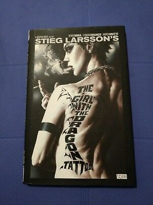 Comic - Graphic Novel - The Girl With The Dragon Tattoo -Stieg Larsson Hardcover