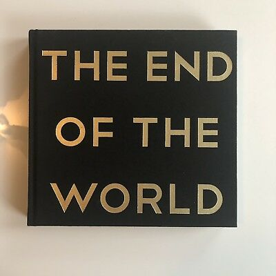 The End Of The World by Don Hertzfeldt Hardcover First Edition Autographed