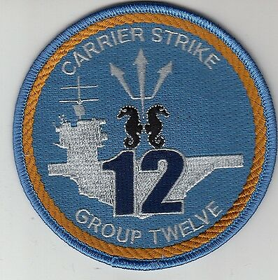 Carrier Strike Group 12 Command Chest Patch