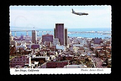 "Vintage Post Card San Diego SAN Coronado Airlines NEW 5.75"" Gift"