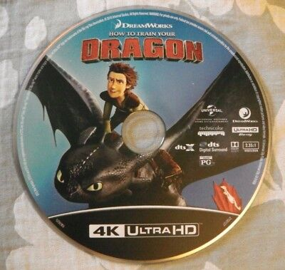 How to Train Your Dragon (4K Ultra HD, DISK ONLY) Dreamworks / SKG