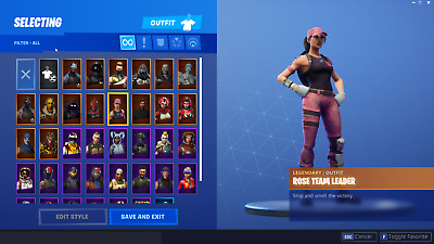 Fortnite account 37 skins STW played abit dailys unlocked. Exclusive paragon rew