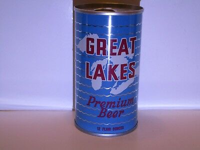 Great Lakes Pull Top Beer Can
