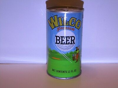 Wilco Pull Top Beer Can