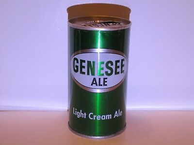 Genesse Cream Ale Pull Top Beer Can