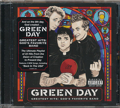 Green Day Greatest Hits: God's Favorite Band [Dirty] CD '17 (never played)