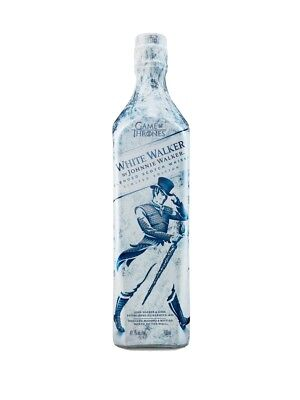 White Walker by Johnnie Walker Limited Edition Bottle Game Of Thrones, Brand New