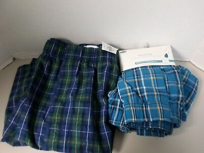 Old Navy Men's  XXX LARGE  {48-50} Lot Of  2 Pairs OF BOXERS 100% Cotton NWT