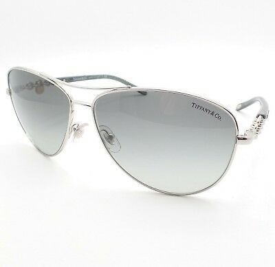 21040ff7635 AUTHENTIC TIFFANY   CO. Grey Sunglasses TF 4106B - 81973C  NEW ...