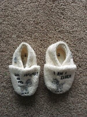 Mothercare Baby Slippers Age Up To 6 Months