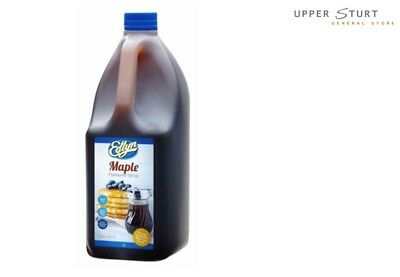 Maple Flavoured Syrup Edlyn 1x3 Litre Perfect for Crepes Pancakes Waffles