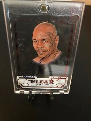 Mike Tyson SportKings Auto & # 2/5 Card