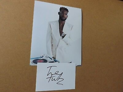 Tinie Tempah 'Rapper-Singer-Youth' signed - COA