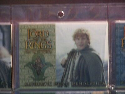Lord Of The Ring Fellowship Of The Ring Sam's Travel Jacket Costume Card