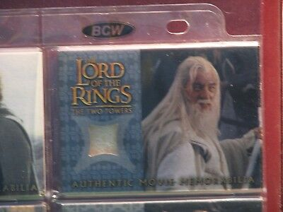Lord Of The Ring The Two Towers Gandalf's Silk Shirt Costume Card