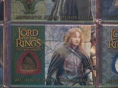 Lord Of The Ring The Two Towers Farimar's Ranger Outfit Costume Card