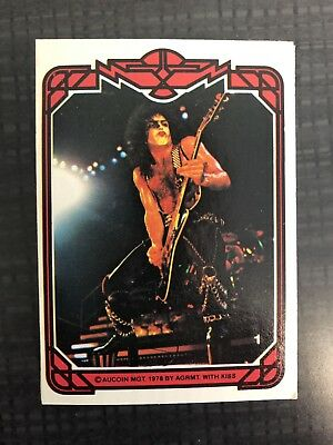 KISS 1978 Trading Card Series One Set + Bonus
