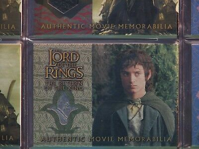 Lord Of The Ring Return Of The King Frodo's Grey Havens Vest Costume Card