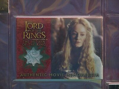 Lord Of The Ring Return Of The King Eowyn's Golden Hall Party Dress Costume Card