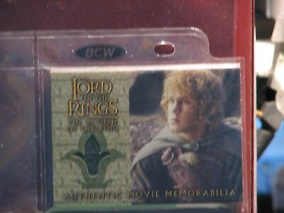 Lord Of The Ring Return Of The King Merry's Rohan Cloak Costume Card