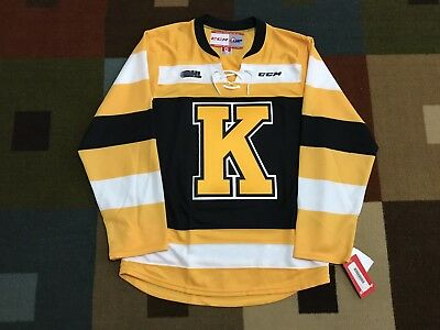 pretty nice 1a822 f6c57 KINGSTON FRONTENACS CCM Replica Jersey NWT - M