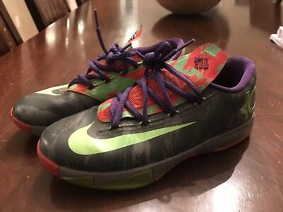 2a9d45bf847 NICE Nike KD VI 6 Energy Electric Nerf Low GS Basketball Shoes Youth size 4Y