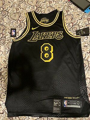 6519454d4 Nike 2018 NBA Los Angeles Lakers Kobe Bryant  8 Authentic City Edition  Jersey