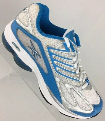 REEBOK DMX RIDE Running CROSS TRAINING shoes Sneakers White BLUE Womens  size 7
