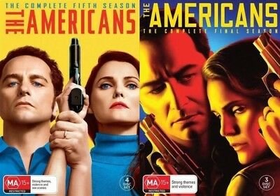 THE AMERICANS Season 5 + 6 (Region 2 UK Compatible) DVD The Complete Series
