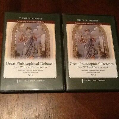 The Great Courses -Great Philosophical Debates - Free Will and Determinism 12 CD