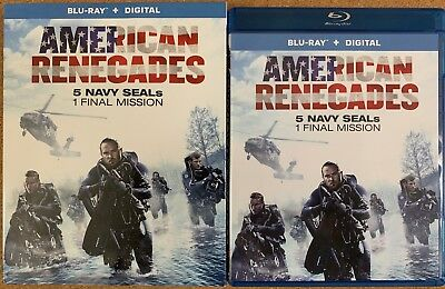 American Renegades Blu Ray + Slipcover Sleeve Free World Wide Shipping Buy Itnow